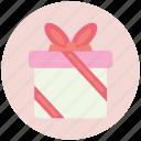 birthday, box, gift