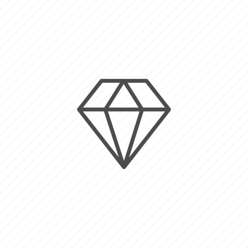 birthday, diamond, gem, gift icon