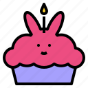 birthday, cake, happy, party, sweet icon