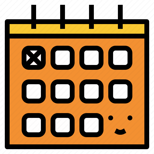 appointment, calendar, date, time icon