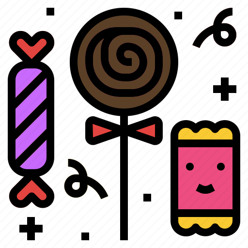 candy, party, sugar, sweet icon