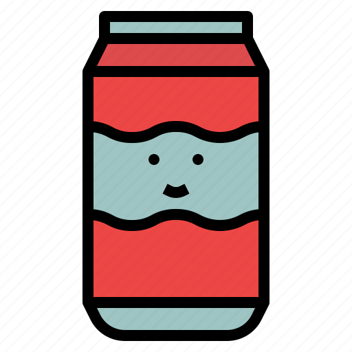 Cola, light, drink, party, soda icon