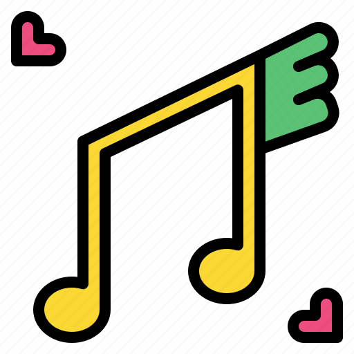music, note, party, sing, song icon