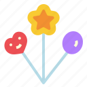 balloon, gas, happy, party icon