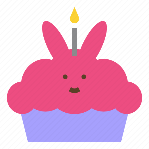 birthday, cake, happy, party, sweet icon