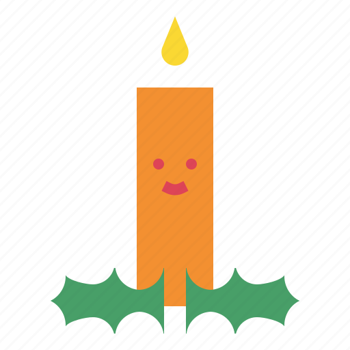 candle, dinner, light, party icon