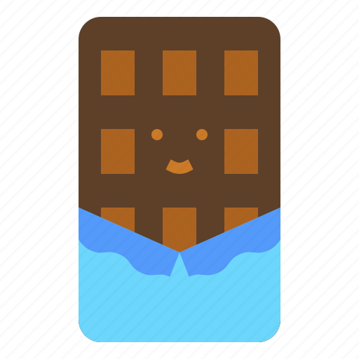 chocolate, cocoa, sugar, sweet icon