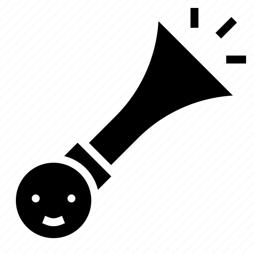 horn, lounder, party, speaker icon