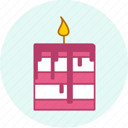birthday, cake, celebration, event, food, holiday, party icon