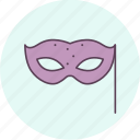 carnival, disguise, festival, holiday, mask, masquerade, party icon