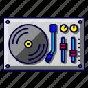 dj, music, party, turntable, vinyl