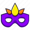 disguise, incognito, mascarade, mask, party icon