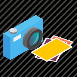 camera, focus, isometric, lens, photo, photography, photos icon