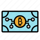 bank, bit, business, cash, coin, dollar, money icon