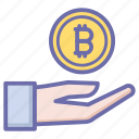 bit, coin, currency, finance, money, payment icon