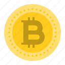 bitcoin, blockchain, coin, cryptocurrency, digital currency, mining, money icon