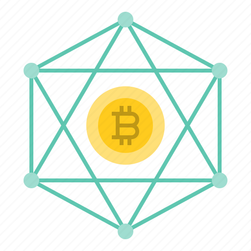 bitcoin, blockchain, cryptocurrency, digital currency, network icon