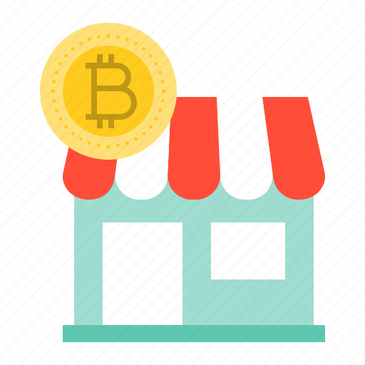 accepted, bitcoin, blockchain, cryptocurrency, digital currency, payment, store icon