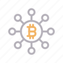 bitcoin, connection, crypto, currency, network