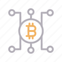 bitcoin, connection, crypto, currency, money