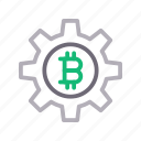 bitcoin, crypto, currency, money, setting