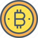 bank, bitcoin, cryptocurrency, digital, money icon