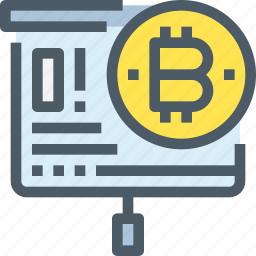 bank, bitcoin, business, cryptocurrency, digital, money icon
