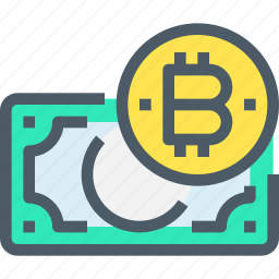 bank, banking, bitcoin, cryptocurrency, digital, money icon