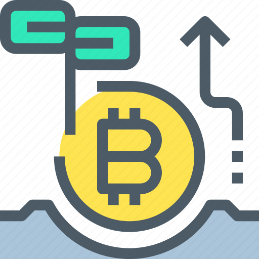 bank, bitcoin, cryptocurrency, digital, investment, money icon