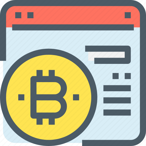 bank, bitcoin, cryptocurrency, digital, money, payment icon