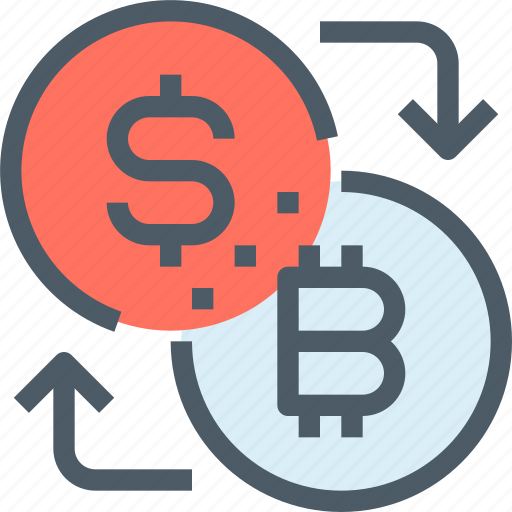 bank, bitcoin, cryptocurrency, digital, exchange, money icon