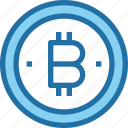 bank, bitcoin, coin, cryptocurrency, money icon