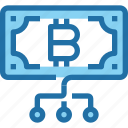 bank, bitcoin, business, cryptocurrency, money, payment icon