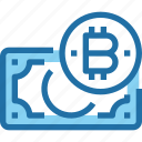 bank, bitcoin, cryptocurrency, money, payment icon