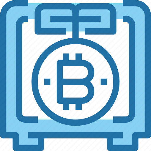 bank, bitcoin, cryptocurrency, investment, money, saving icon