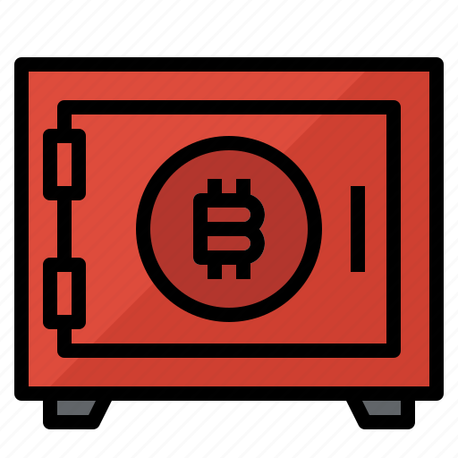 bitcoin, protect, protection, save icon