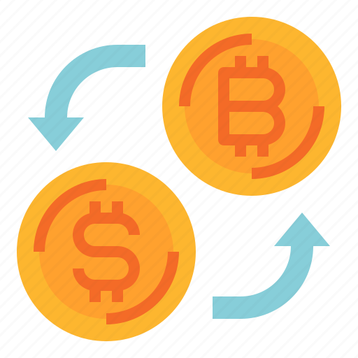 bitcoin, cash, coin, currency, exchange, money icon