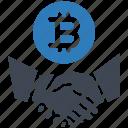 bitcoin, contract, deal