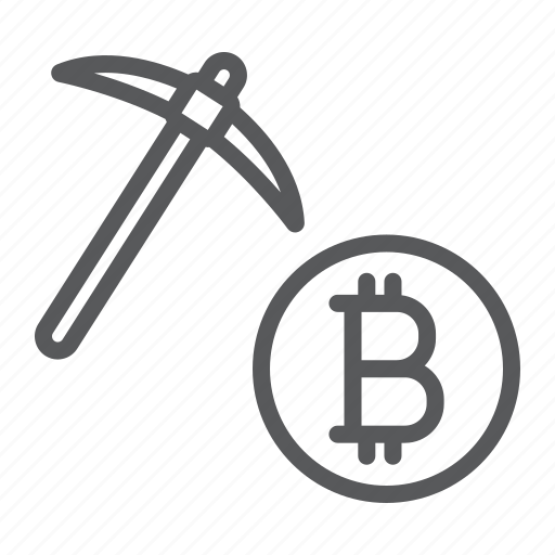 bitcoin, coin, cryptocurrency, digital, finance, mining, money icon