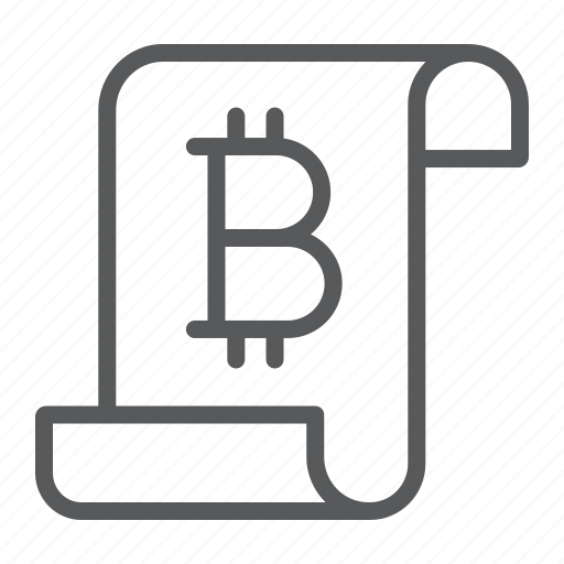 bitcoin, chain, currency, digital, distributed, finance, ledger icon