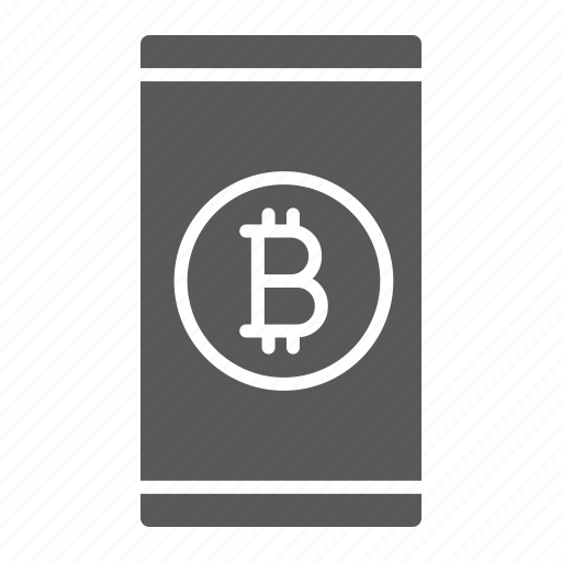 app, bitcoin, coin, finance, mobile, money, smartphone icon