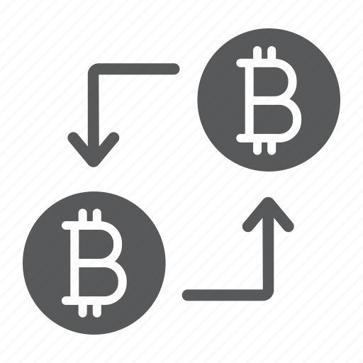 bitcoin, coin, cryptocurrency, digital, finance, money, transaction icon