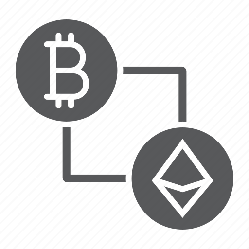 bitcoin, crypto, currency, ethereum, finance, money, vs icon