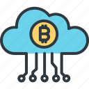 bitcoin, cloud computing, cryptocurrency, data storage, digital, finance, trade