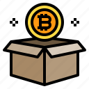 bitcoin, box, package