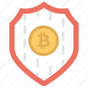 bitcoin security, bitcoin transaction network, blockchain security, cryptocurrency, reliable bitcoin wallet icon