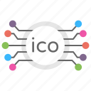 crypto token, cryptocurrency, fundraising mechanism, ico token, initial coin offering icon