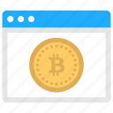 bitcoin account, bitcoin login, bitcoin web, bitcoin website, online bitcoin icon