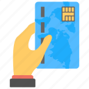 bank card, debit card, payment card, plastic card, plastic payment icon