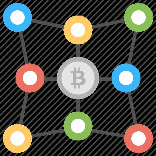 Bitcoin network, decentralization in bitcoin, decentralized, decentralized cryptocurrency exchange, decentralized exchange icon - Download on Iconfinder